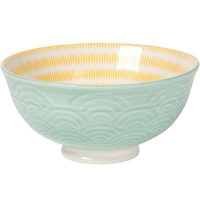 NOW 波紋餐碗(綠)