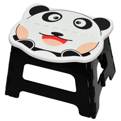 創意達人元氣貓熊可收摺疊椅2入