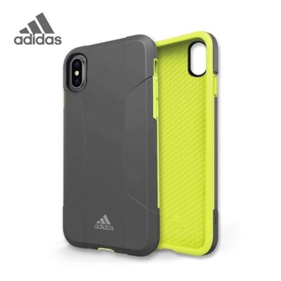 adidas iPhone X Solo Case 全保護手機殼 簡約灰