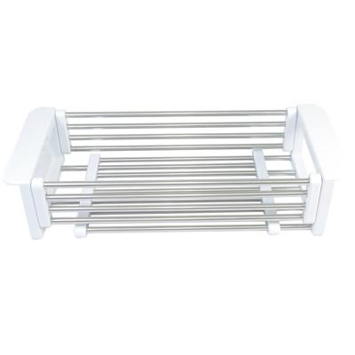 NITORI不鏽鋼多功能伸縮瀝水籃
