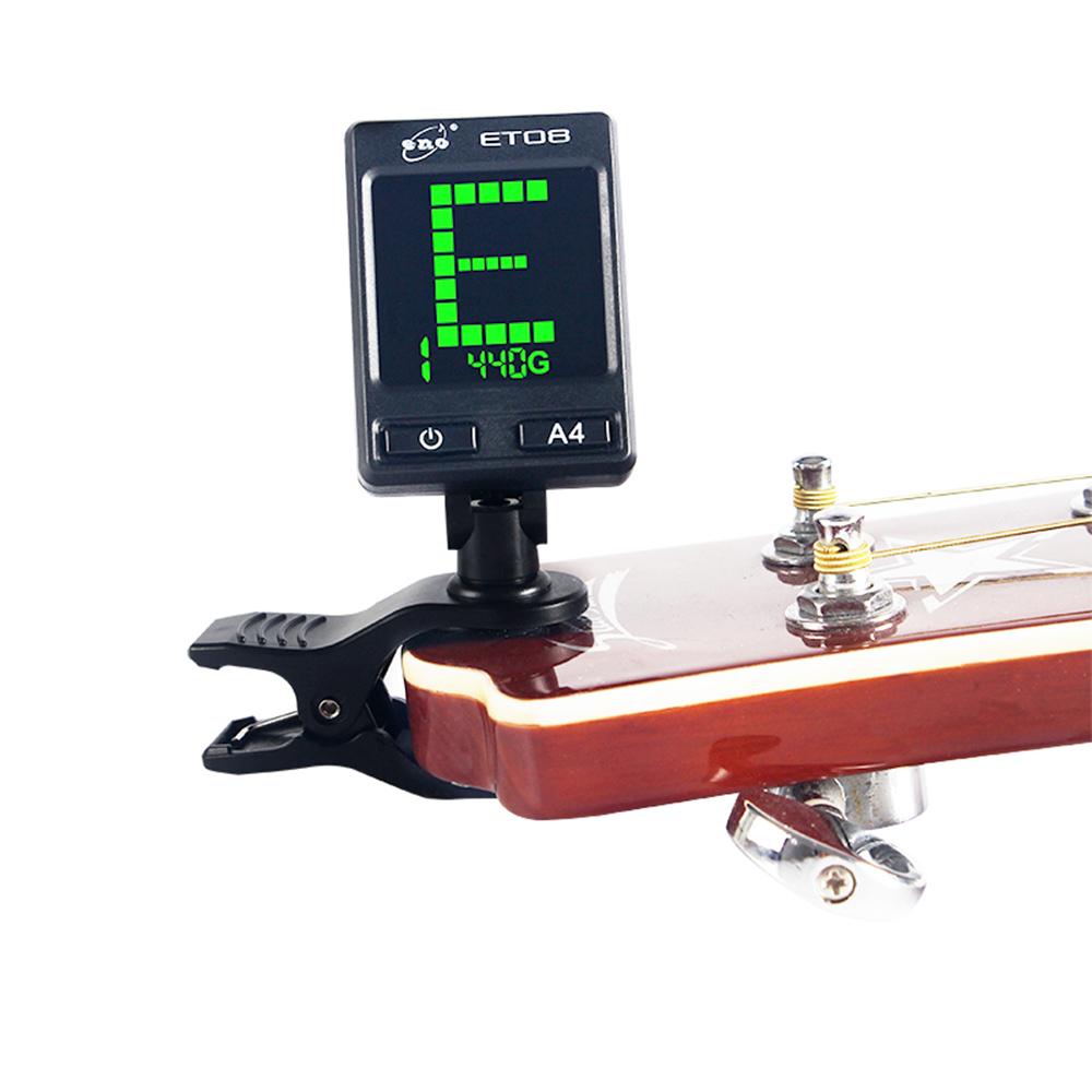 ENO ET-08 彩色螢幕夾式調音器