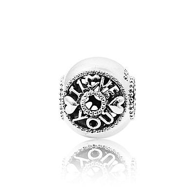 Pandora 潘朵拉 愛情對話 純銀墜飾 串珠