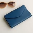 PLEPIC 旅行收藏家護照信封包-海軍藍