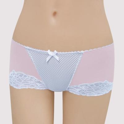 瑪登瑪朵-16SS-我挺妳軟棉圈  低腰平口無痕內褲(花瓣粉)
