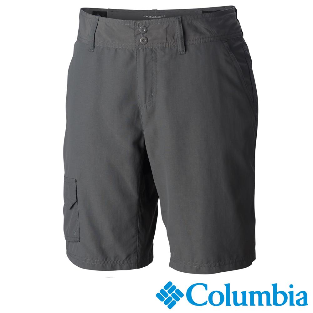 Columbia哥倫比亞 女款-防曬50快排短褲 深灰 UAR40050DY