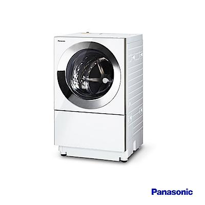 Panasonic國際牌 10.5公斤日製 洗脫烘 滾筒洗衣機 NA-D106X1WTW