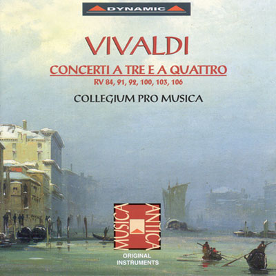 威尼斯之光 - 韋瓦第:室內協奏曲 CD