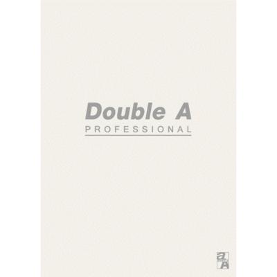 【10入組】Double A B5/18K膠裝筆記本-米40頁 (橫線內頁)