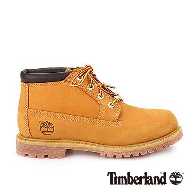 Timberland 短版黃靴 女款