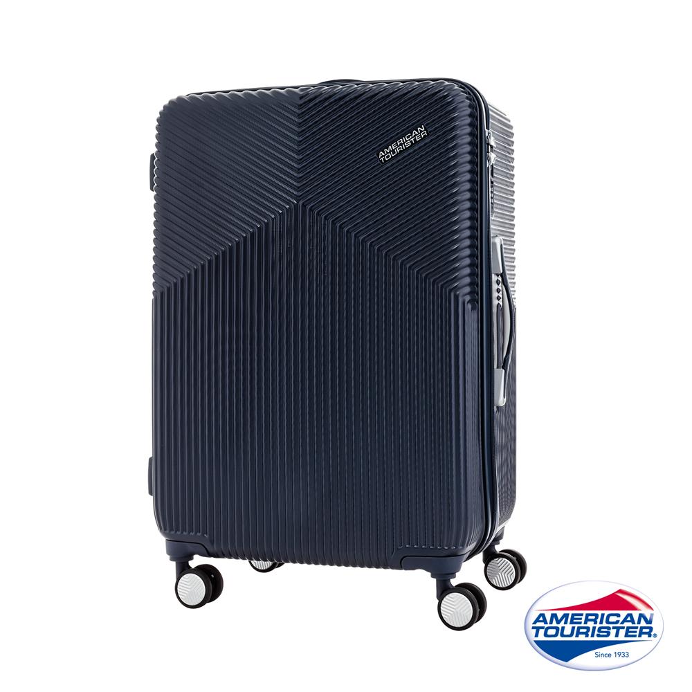 AT美國旅行者 20吋Air Ride 硬殼登機箱(海軍藍)