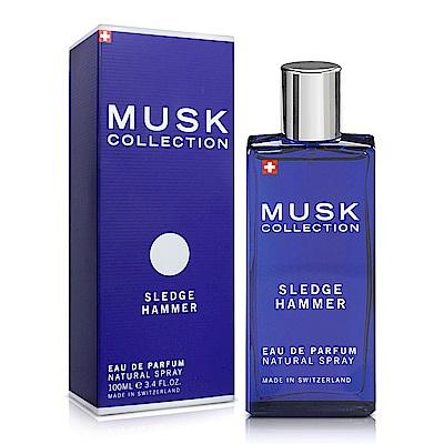Musk Collection 瑞士 經典藍麝香男性淡香精(100ml)-送品牌沐浴精&紙