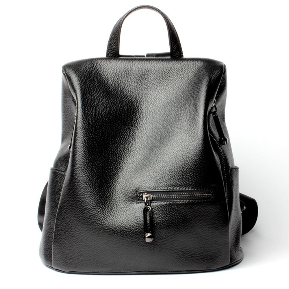 玩皮工坊-真皮頭層牛皮大容量防盜雙肩包後背包書包女包【LB161】