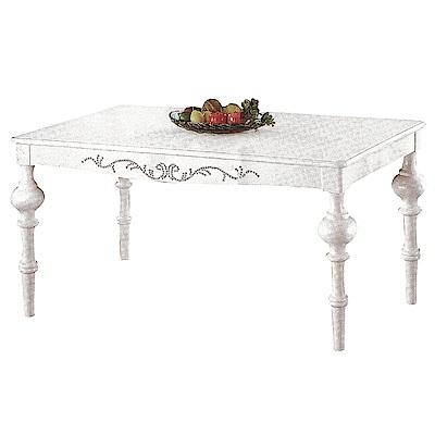 AS-奧蘿拉5.3尺餐桌-160x90x76cm