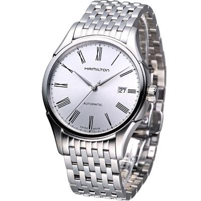 HAMILTON Classic  H39515154 經典時尚機械錶-銀白/40mm
