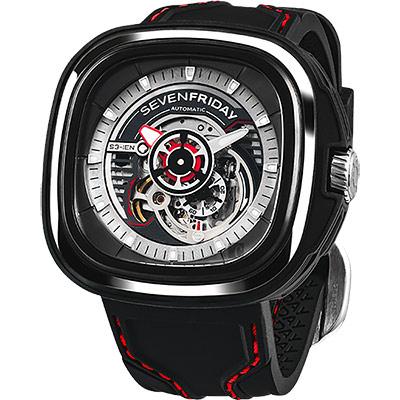 SEVENFRIDAY S3 工業革命自動上鍊機械錶-47mm
