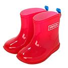 Stample日本製兒童果凍雨鞋(櫻桃紅)