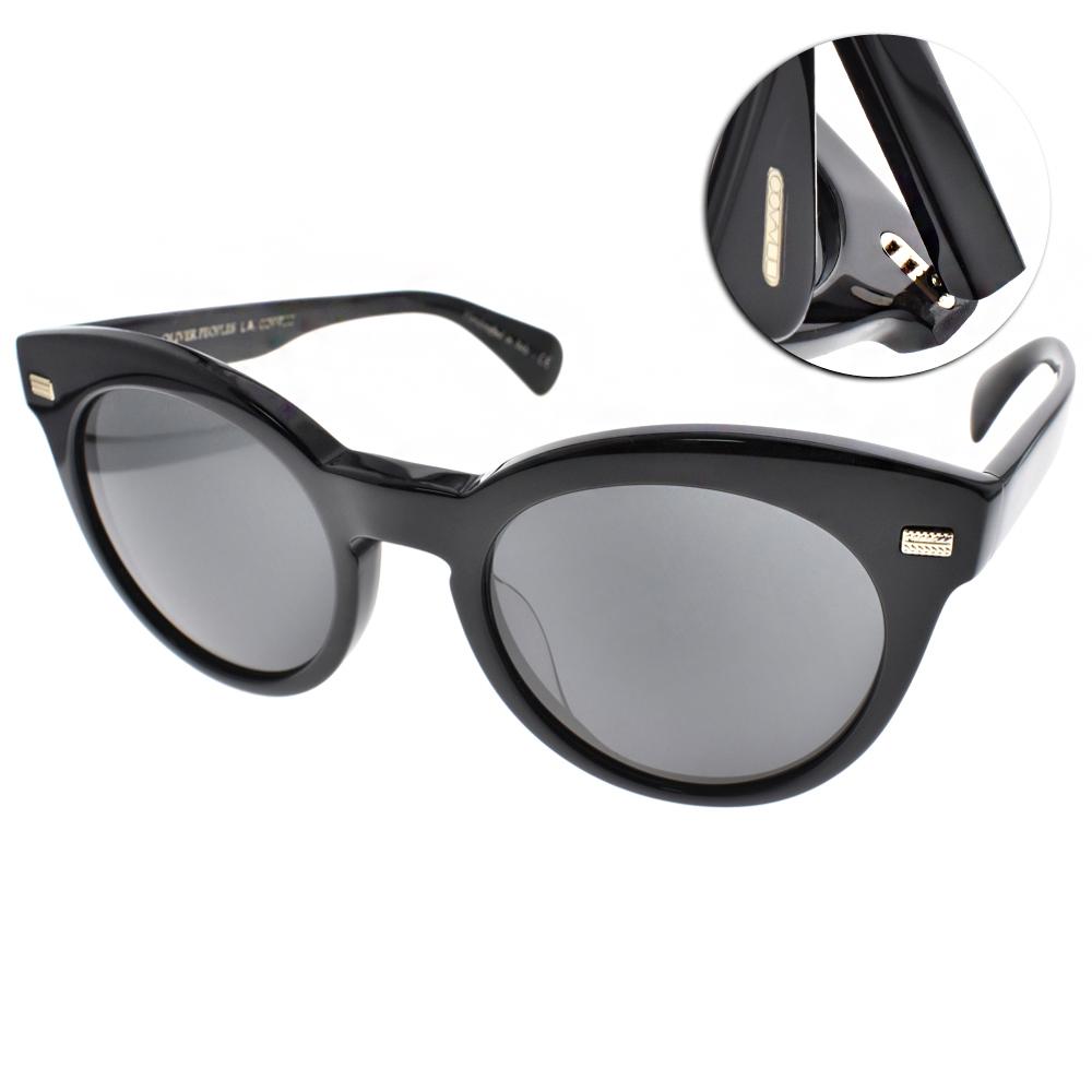 OLIVER PEOPLES太陽眼鏡 歐美貓眼款/黑#DORE 100587
