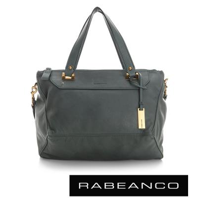 RABEANCO-OL-時尚粉領系列菱形包-中-灰藍