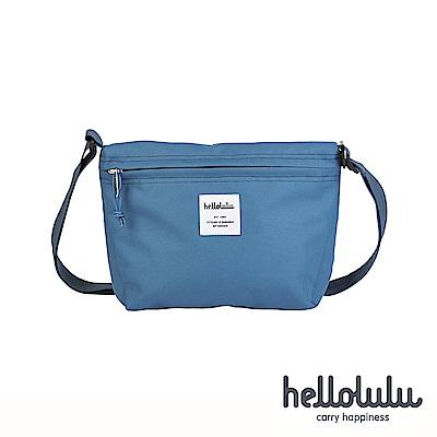 Hellolulu Cana隨身側背包-煙燻藍