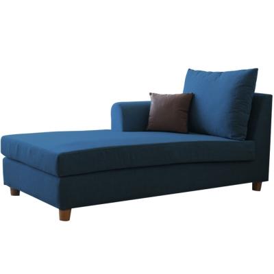 YKSHOUSE 村上貴妃坐躺椅-獨立筒版(藍色-左右型)