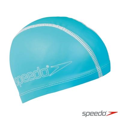 SPEEDO 兒童 合成泳帽 Pace 水藍
