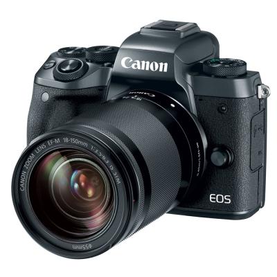 【豪華組】Canon EOS M5 18-150mm STM 變焦鏡組 (公司貨)