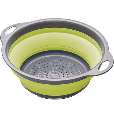 KitchenCraft 摺疊過濾籃(綠)