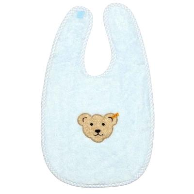 STEIFF德國精品童裝 - 大圍兜兜 藍色 (嬰幼兒衛浴系列)