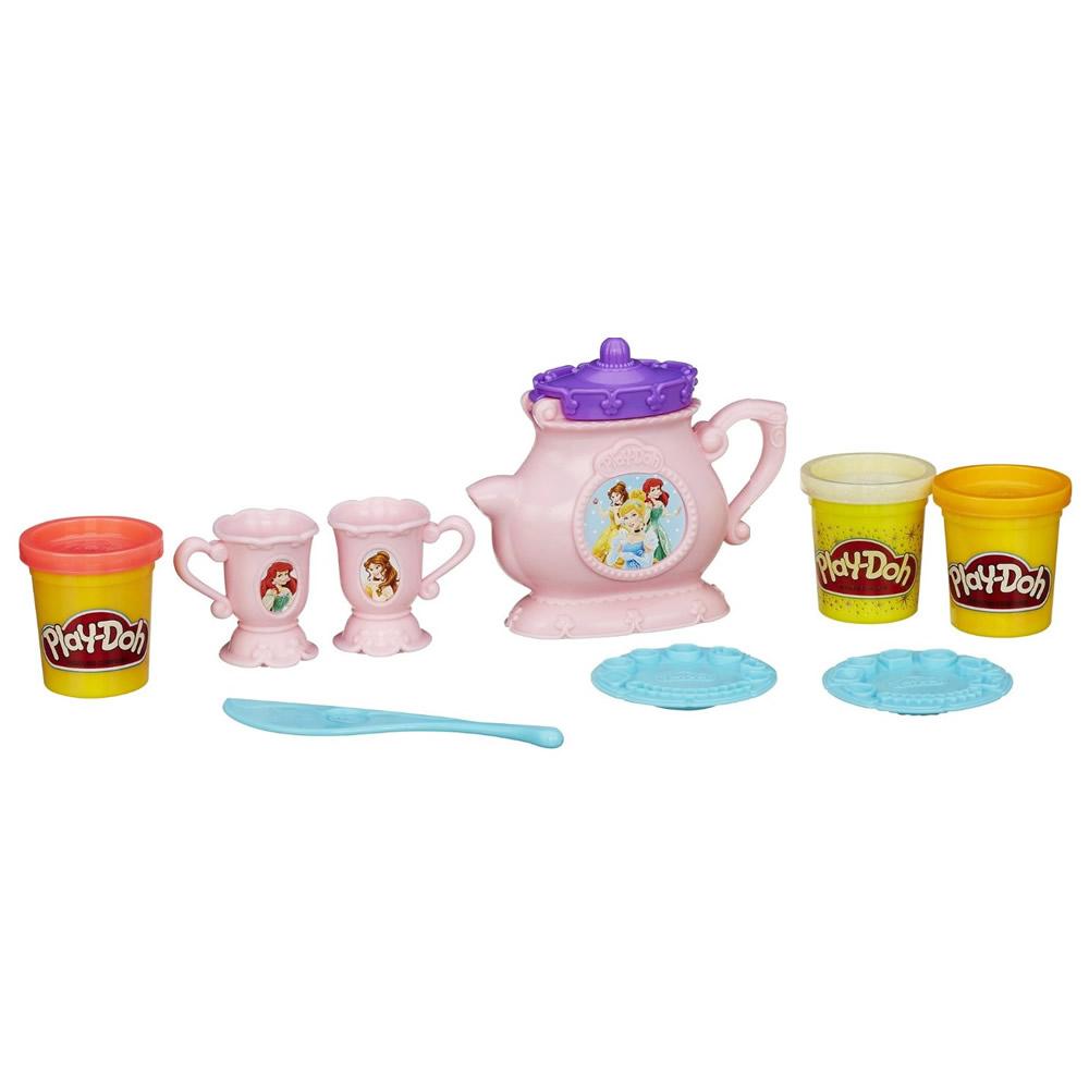 PlayDoh 培樂多 - 公主下午茶遊戲組+補充罐
