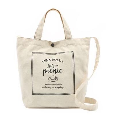ANNA DOLLY 夏日野餐風帆布袋