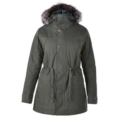 【Berghaus貝豪斯】女款AQ2防水透氣保暖纖維外套H22F29-綠