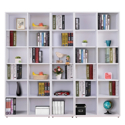 AT HOME-蒂芬妮6.7尺白色開放書櫃