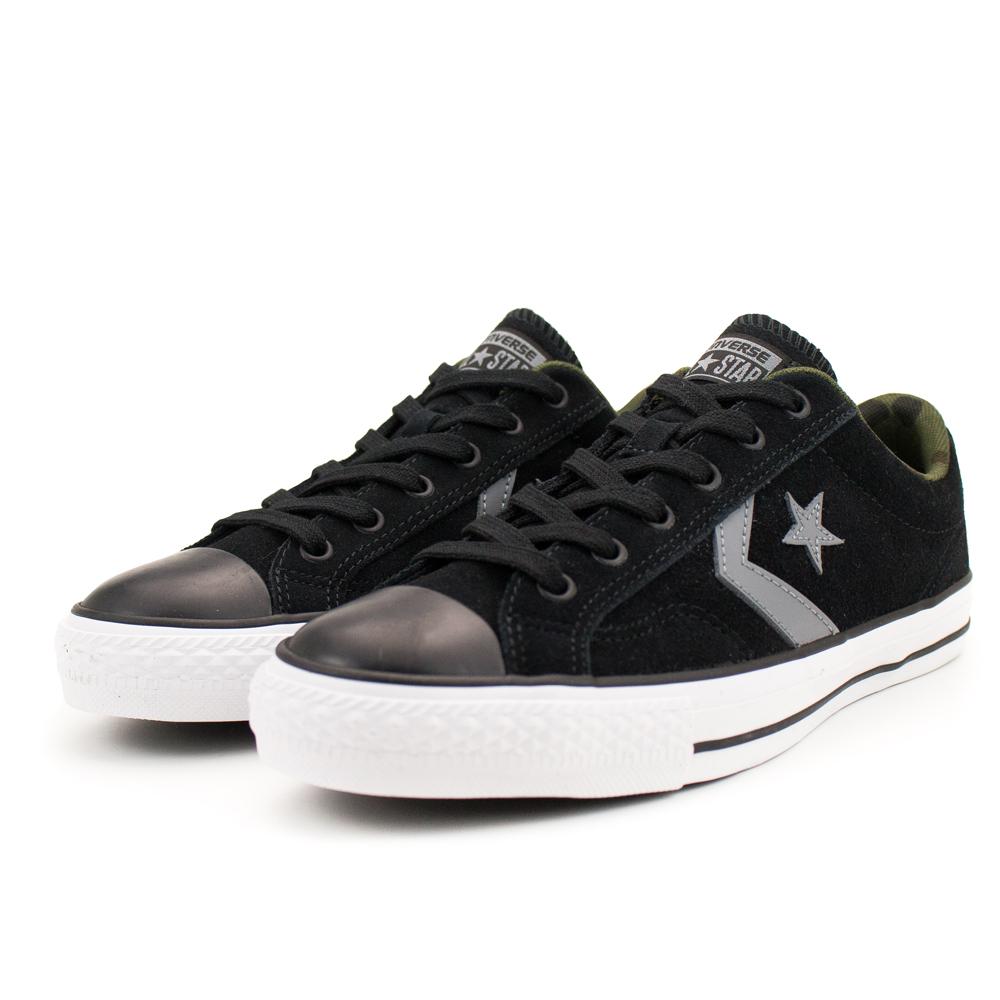 CONVERSE- 男休閒鞋159727C-黑