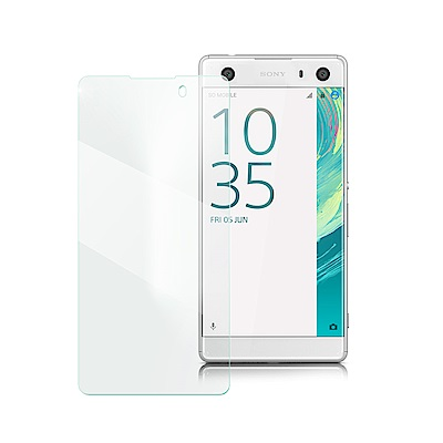 Xmart for SONY Xperia XA2 薄型 9H 玻璃保護貼-非滿...