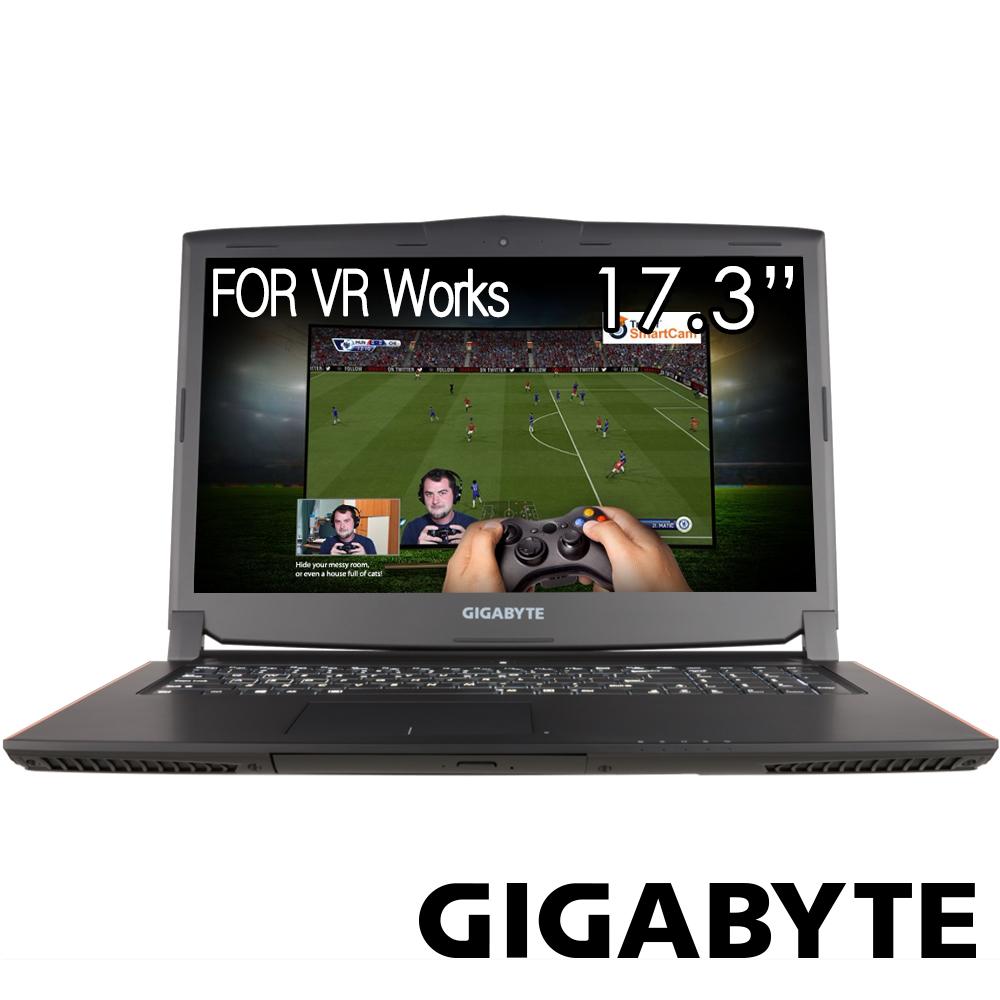 GIGABYTE技嘉 P57Xv6 17吋電競筆電(i7-6700/GTX1070/256 1T