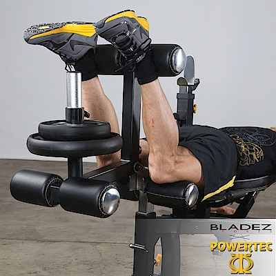 【BLADEZ】POWERTEC-WB-LLA16-腿部伸展訓練配件