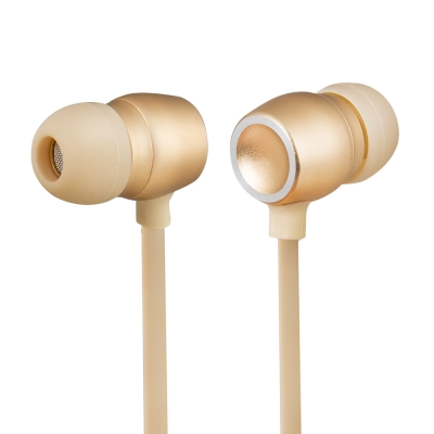 TCSTAR 有線入耳式耳機麥克風-香檳金 TCE5070CG