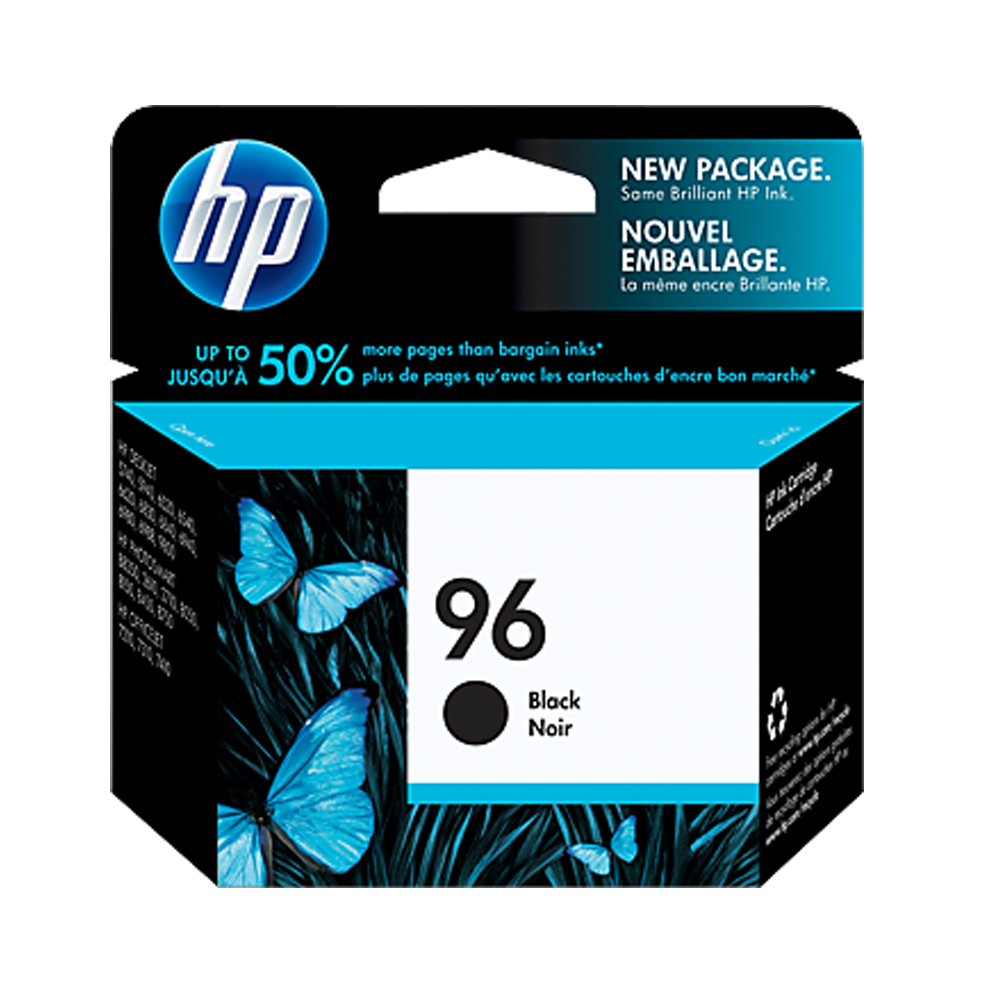 HP C8767WA No. 96 黑色原廠墨水匣 (高容量) (一入)
