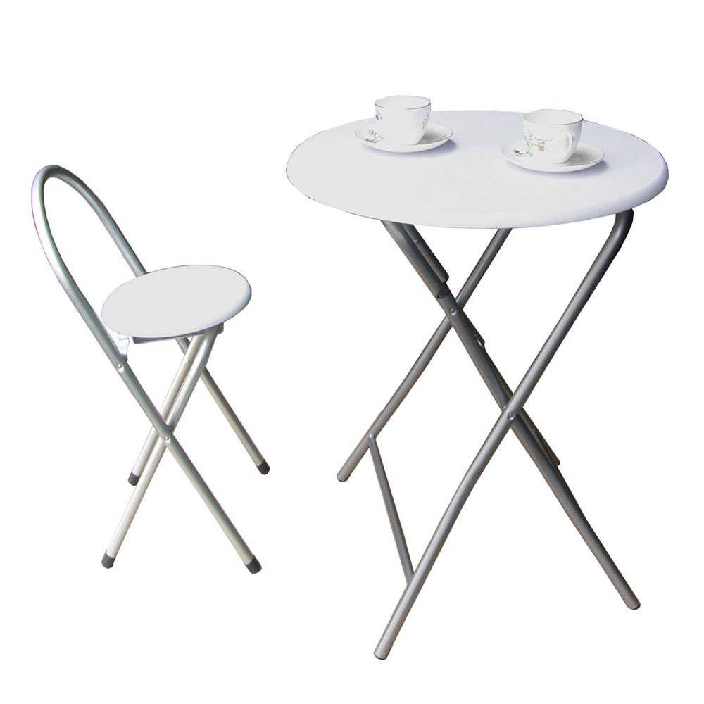 [頂堅]-[耐重型]折疊桌椅組(一桌一椅)二色可選