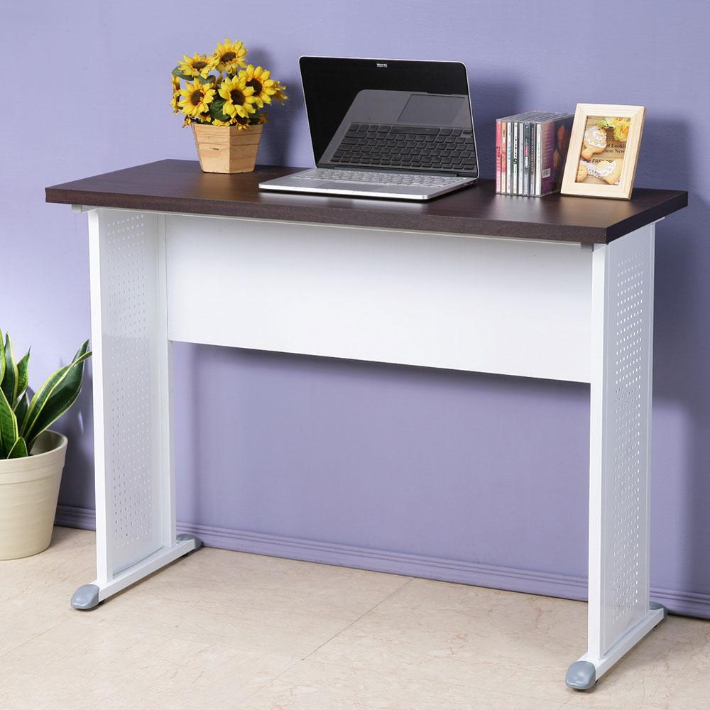 Homelike 皮特100x40工作桌-加厚桌面