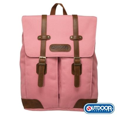 OUTDOOR 英倫復古系列2.0-後背包-粉紅 OD251121PK