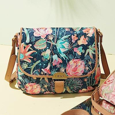 LiliO  側背包  非洲花卉彩繪印花 S Shoulder Bag Cosmos