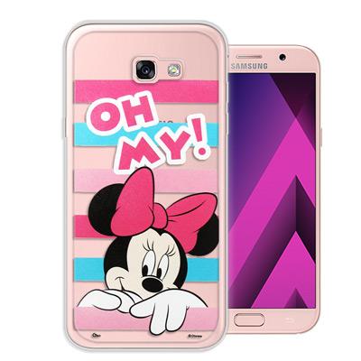 迪士尼授權 Samsung Galaxy A5(2017) 大頭招呼系列手機殼(...