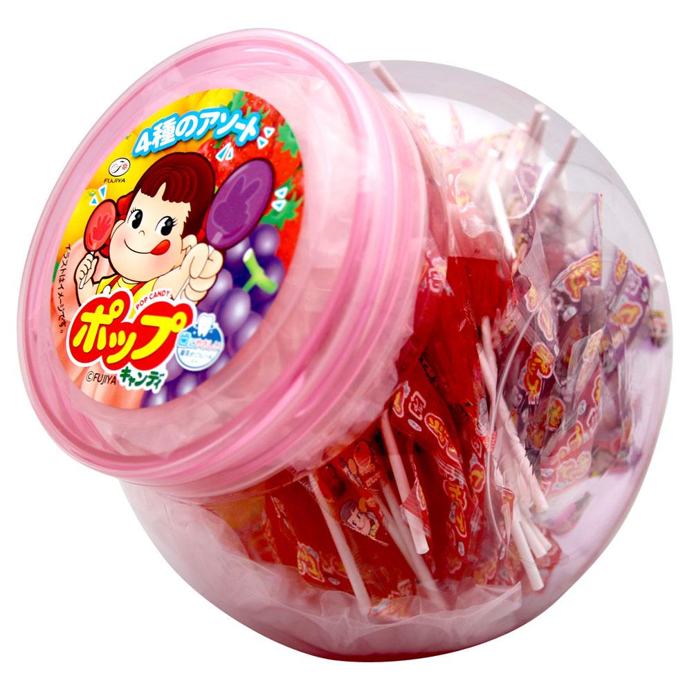不二家 POP綜合水果棒棒糖(500g)