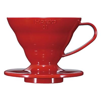 HARIO-V60紅色01樹脂濾杯1~2杯 / VD-01R