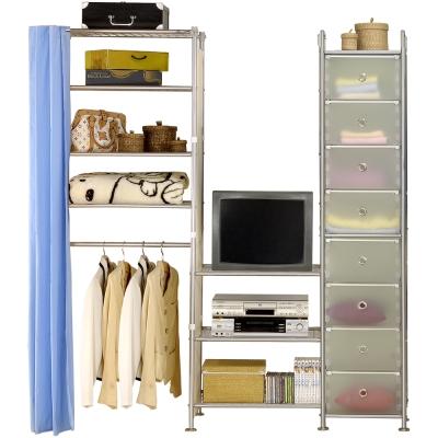 巴塞隆納─W 4 型 60 + 60 +D電視衣櫥置物櫃