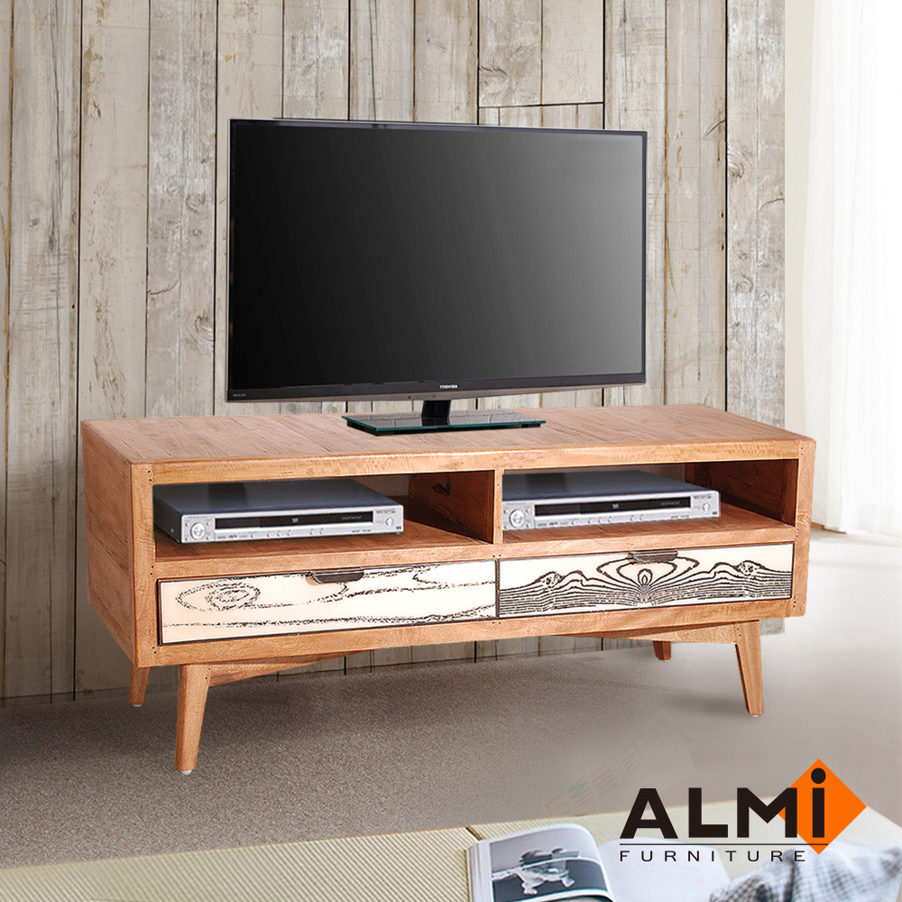 ALMI-TV 2 DRAWERS 雙抽電視櫃W140*D45*H58CM