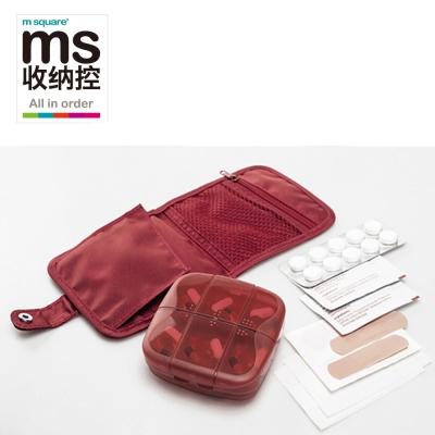 m square 旅行隨身藥盒急救包袋
