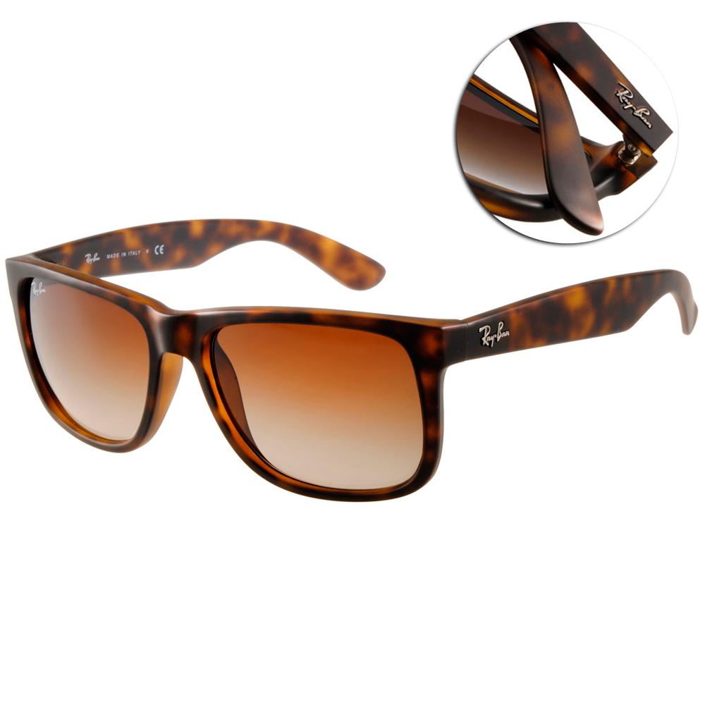 RAY BAN太陽眼鏡 經典品牌/琥珀#RB4165 71013
