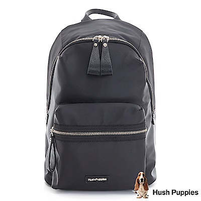 Hush Puppies JARREL 休閒後背包-黑